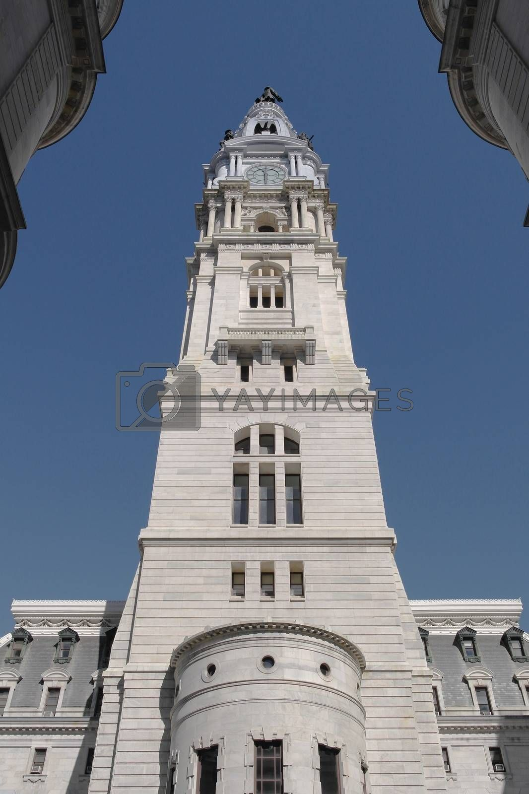 City hall in Downtown Philadelpia