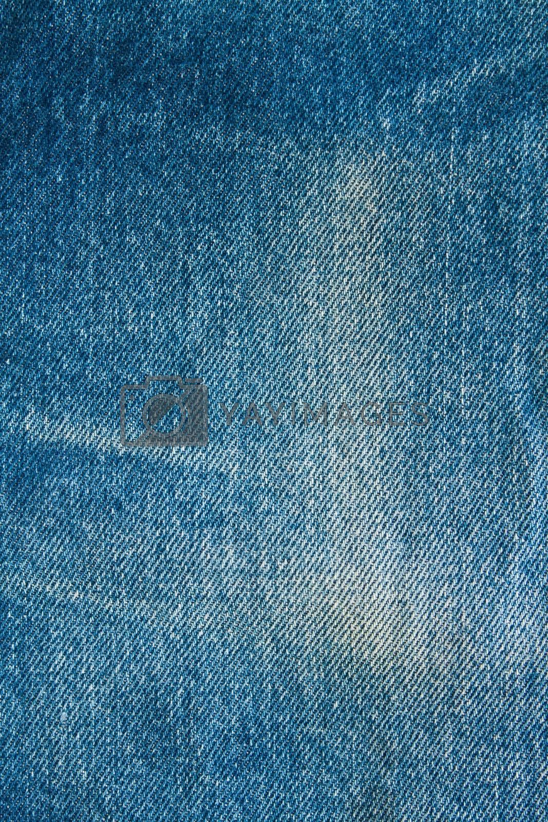 texture of blue modern jeans with pocket, can be used as a background