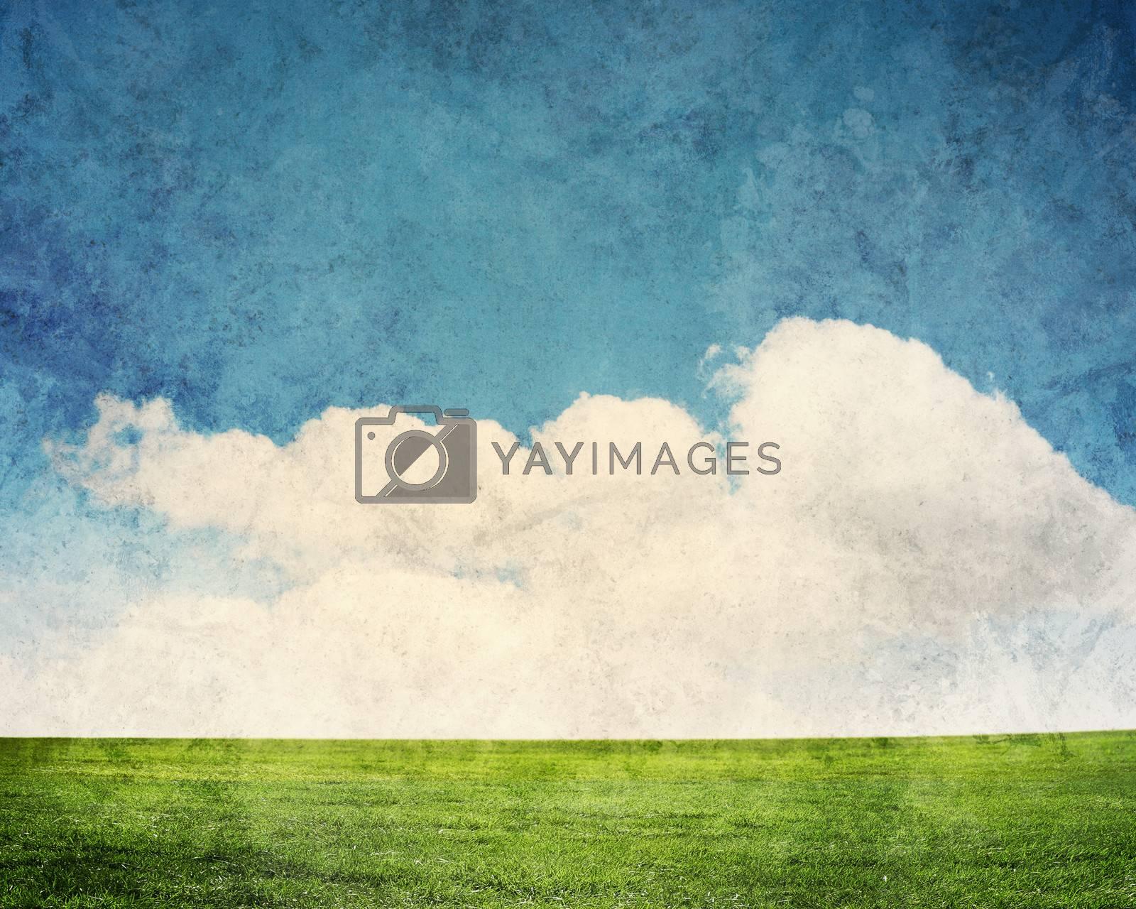 Countryside landscape by Sergey Nivens