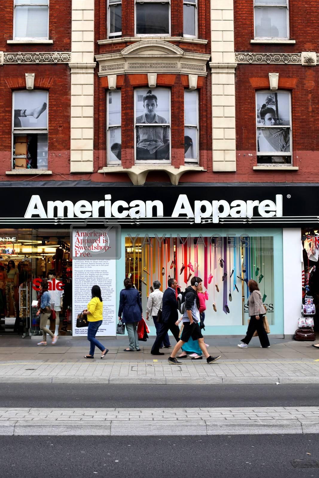 American Apparel Oxford Street London by Whiteboxmedia