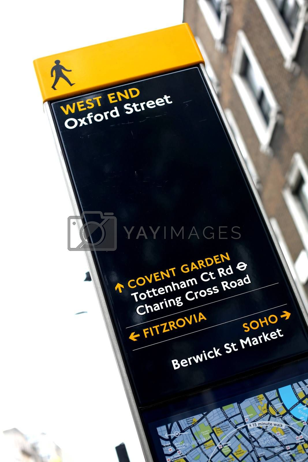 Oxford Street Tourist Guide London by Whiteboxmedia