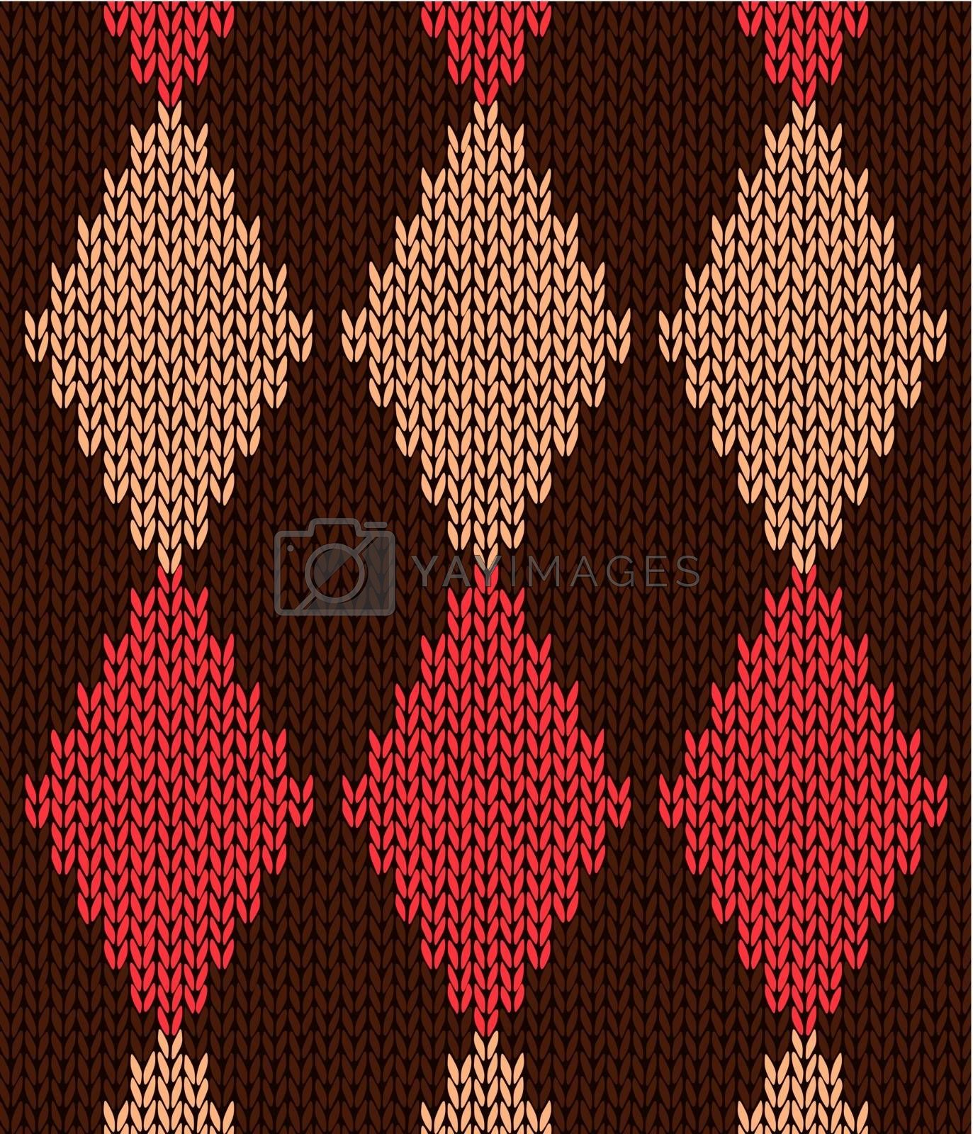 Style Seamless Knitted Pattern by ESSL