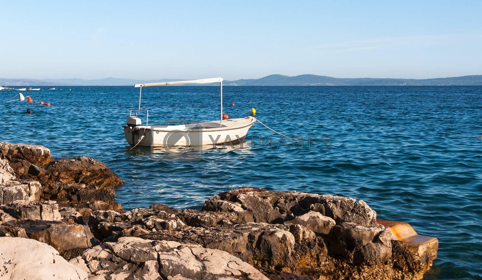Boat at Ciovo Island, Croatia