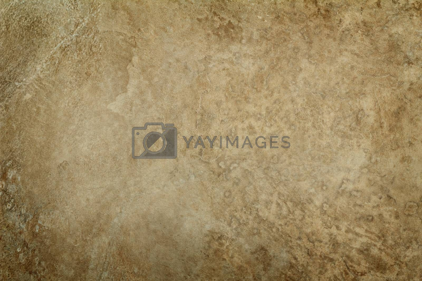 Fragment of ceramic tile with a picture, imitating natural stone.
