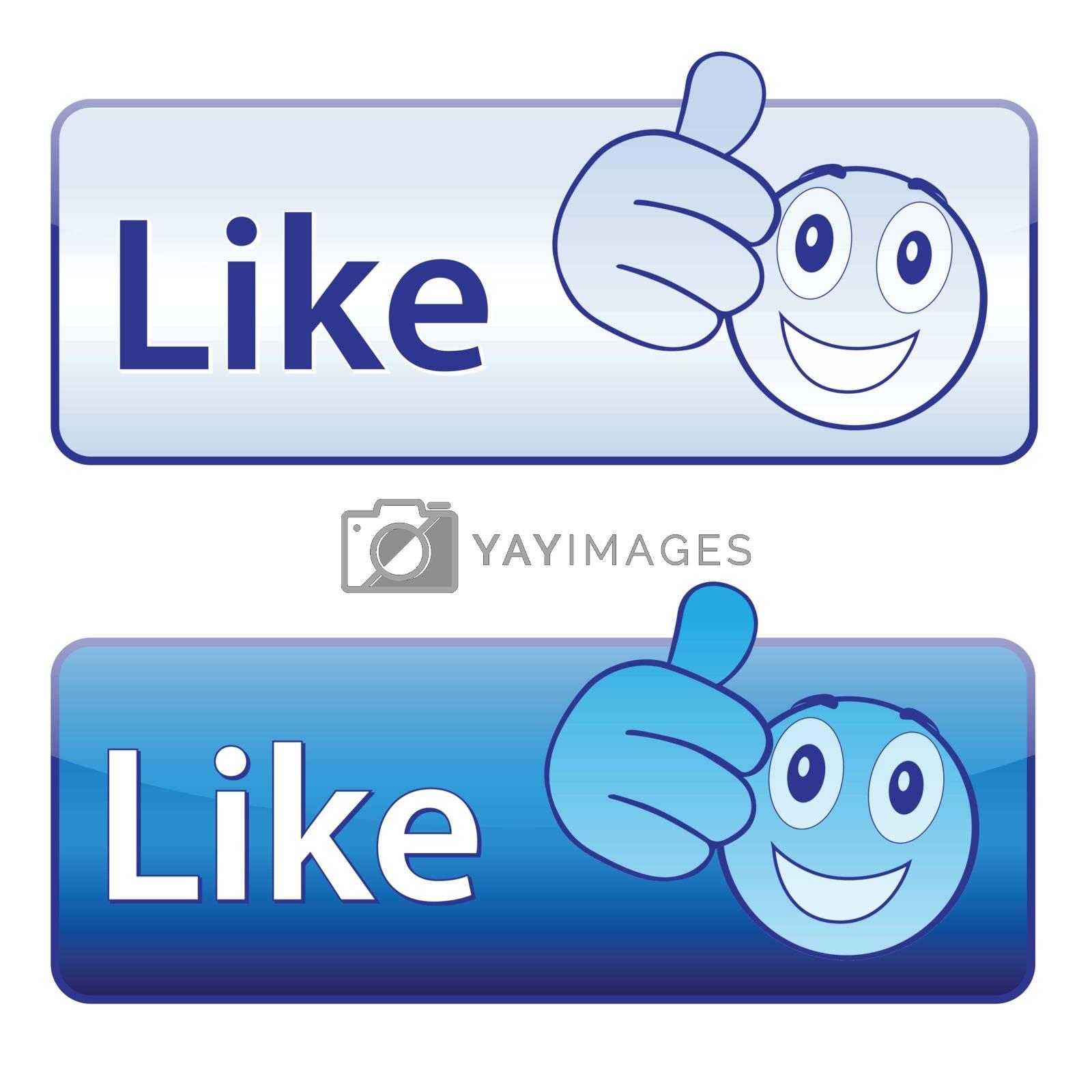 I like (button)