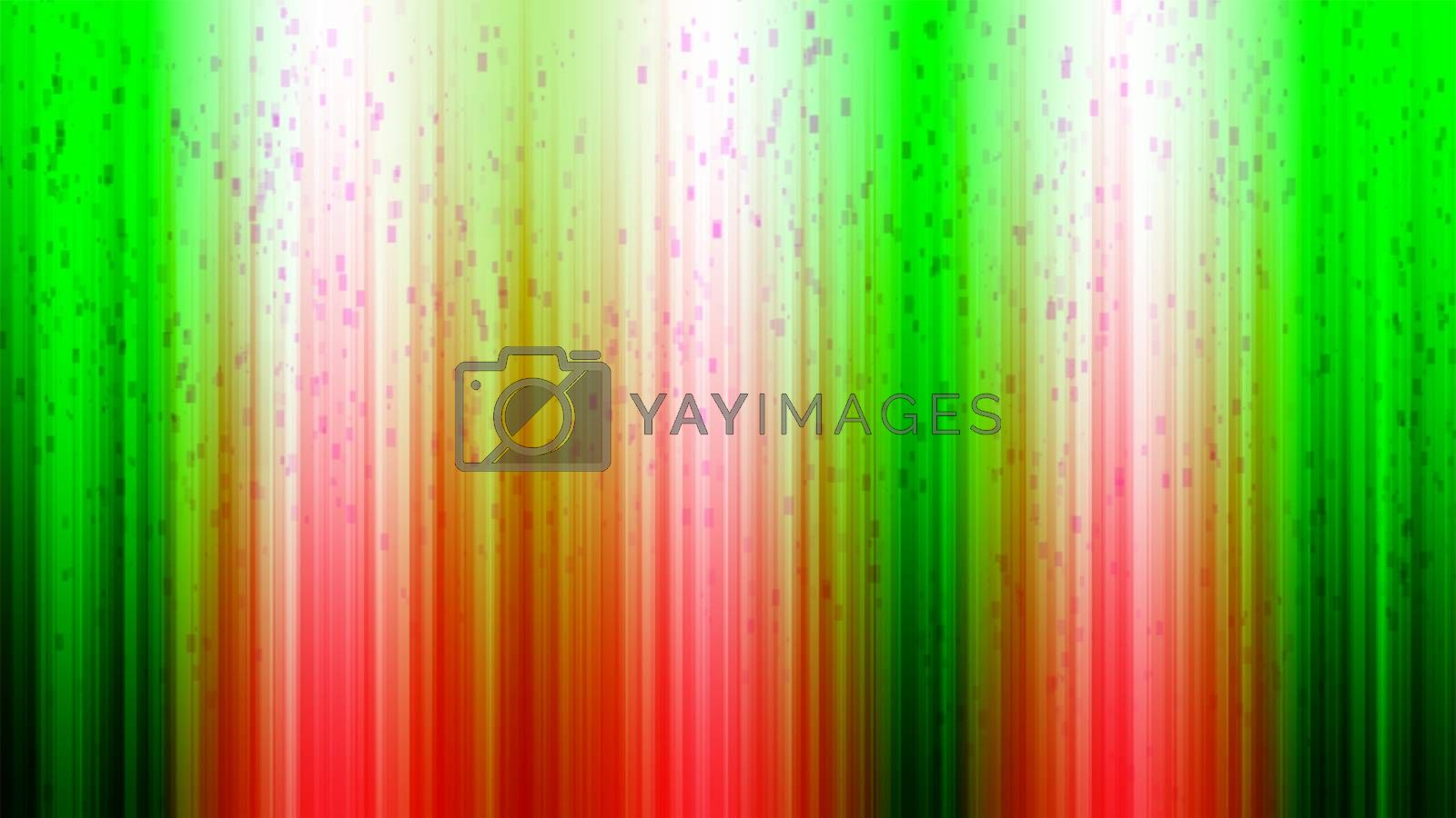 green red color and line of christmas background