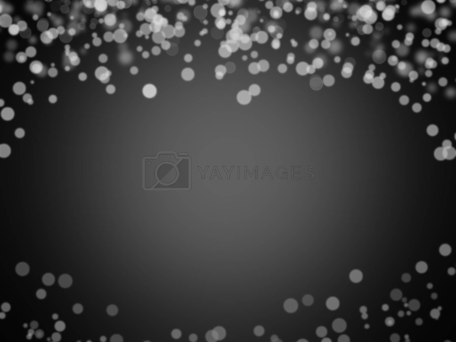 black and white bokeh abstract background texture