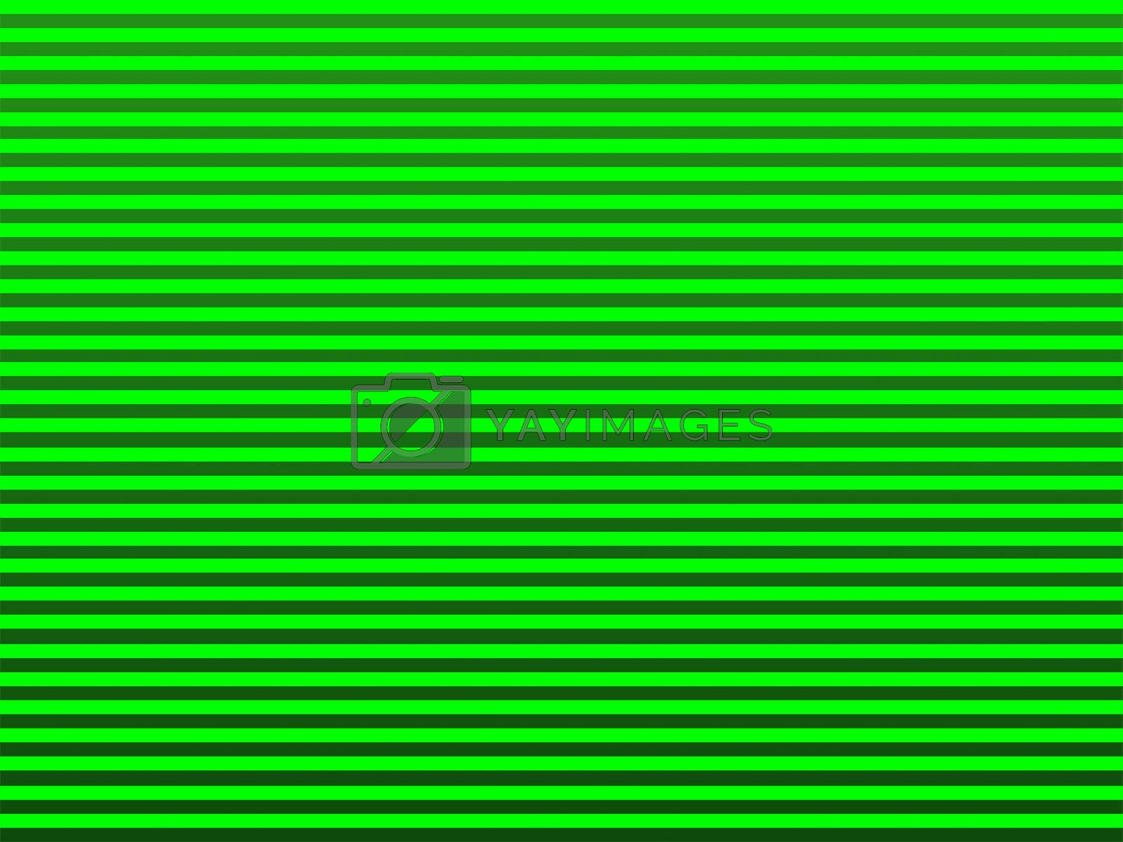 green street line abstract on green tone background