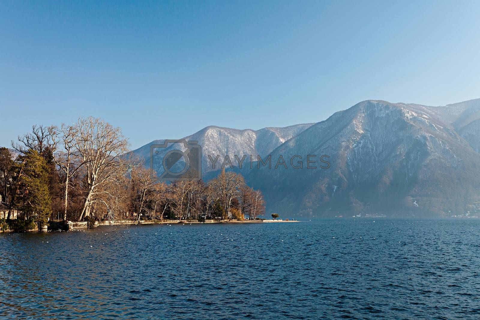Lake Lugano by ajn
