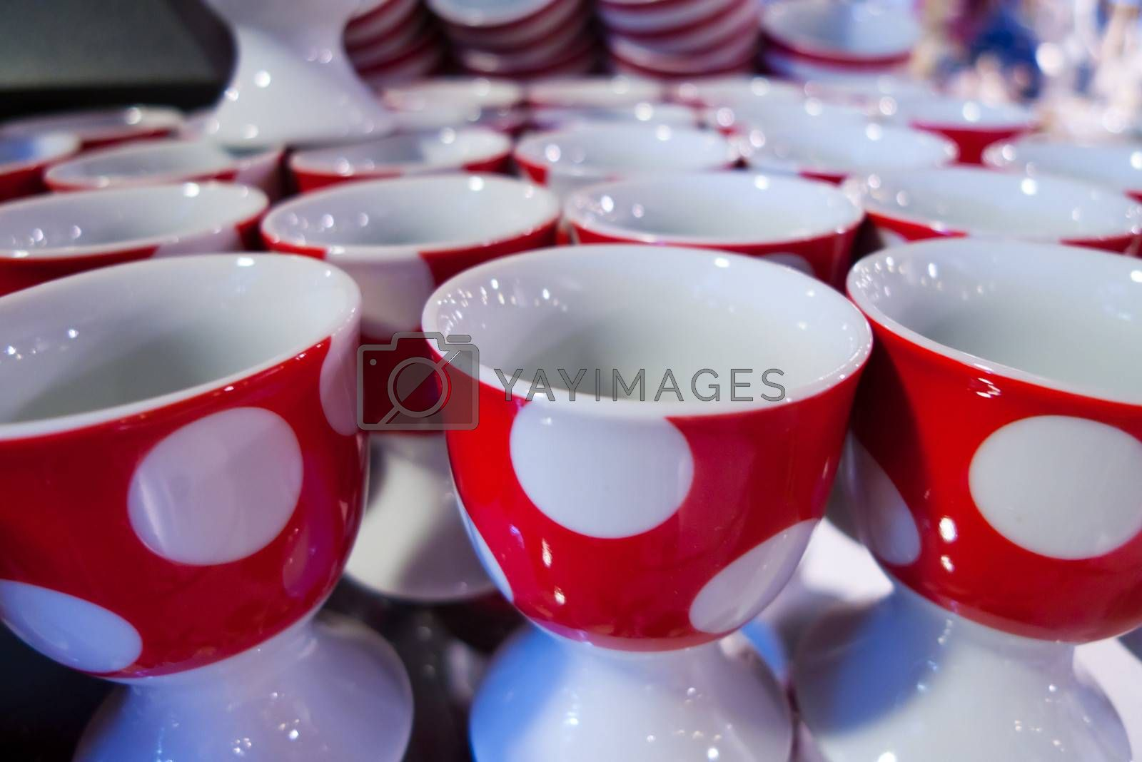 Photo of many empty cups