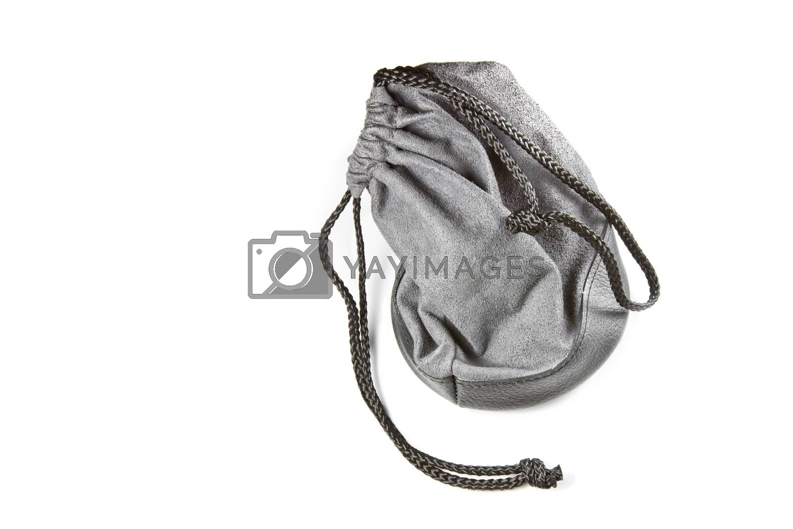 leather bag with strap style