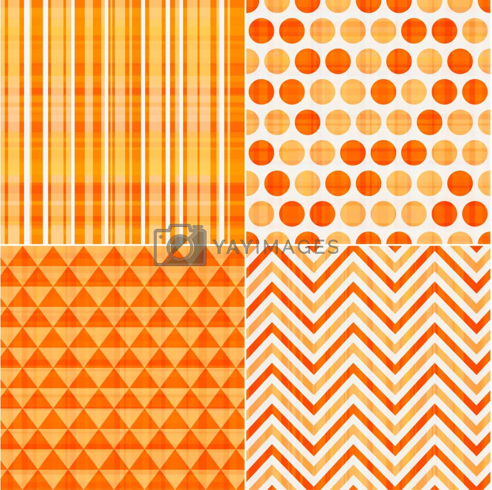 seamless orange texture pattern background