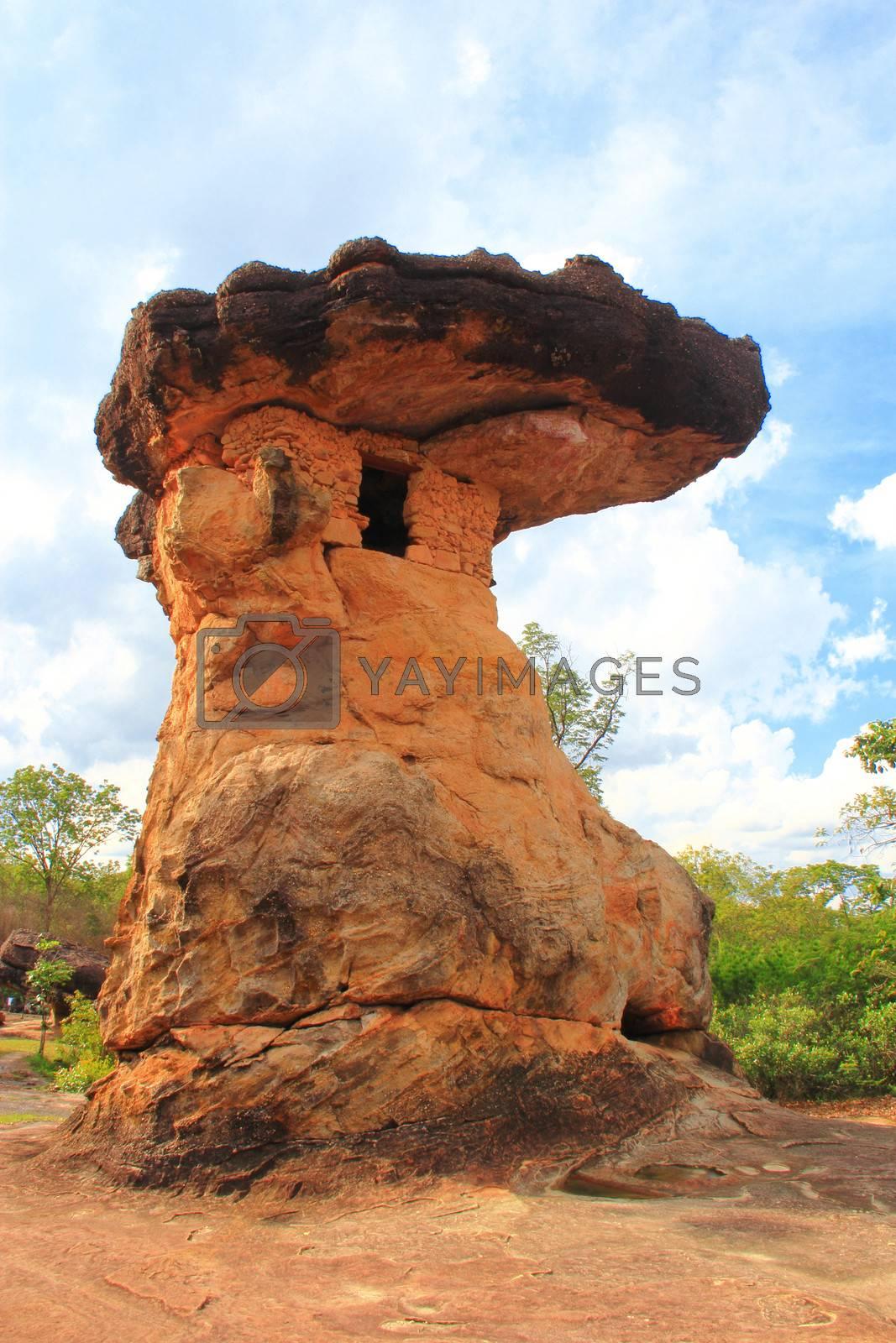 Phu phrabat historical park Udornthani