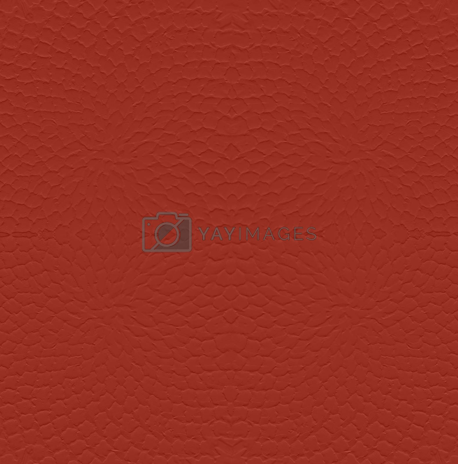 Blank Wall red  pattern Background