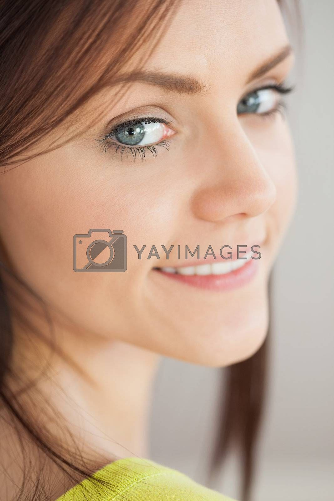 Smiling girl looking  by Wavebreakmedia