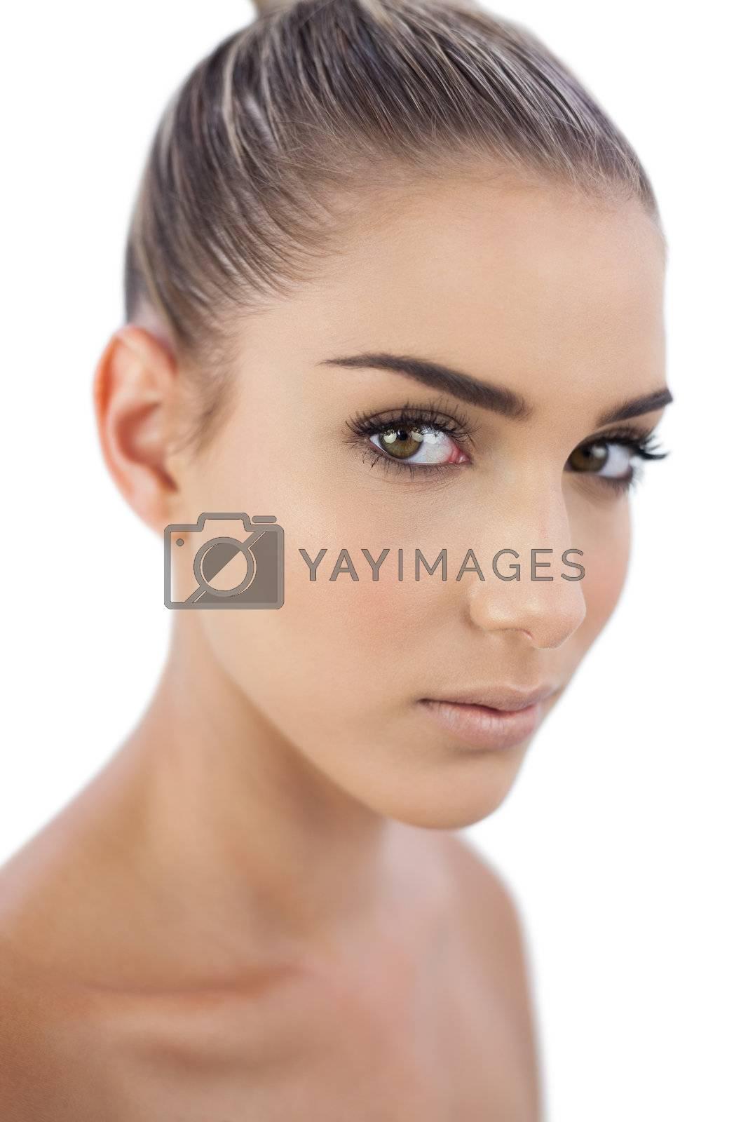 Cute woman looking  by Wavebreakmedia