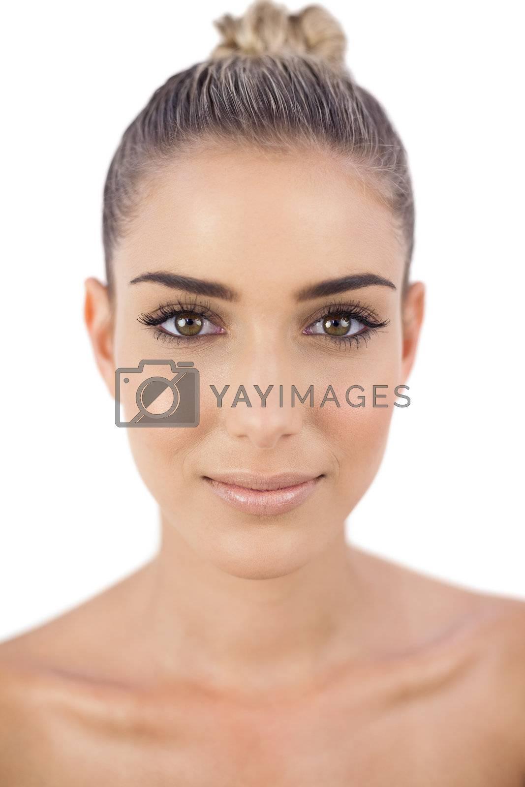Cheerful woman looking  by Wavebreakmedia