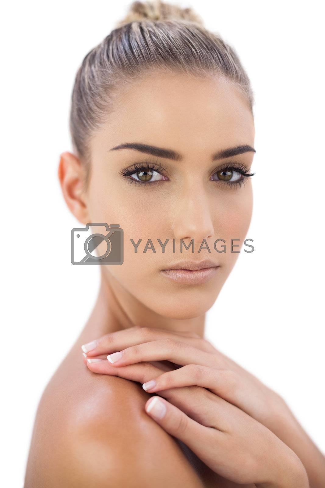 Serious woman looking  by Wavebreakmedia