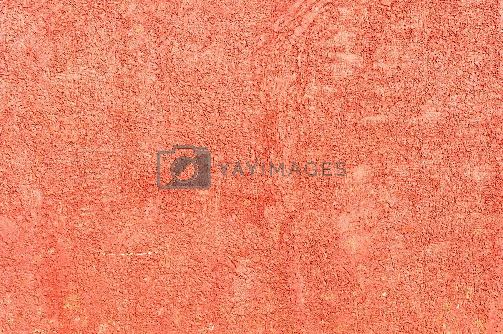 Fresh and new red wall texture