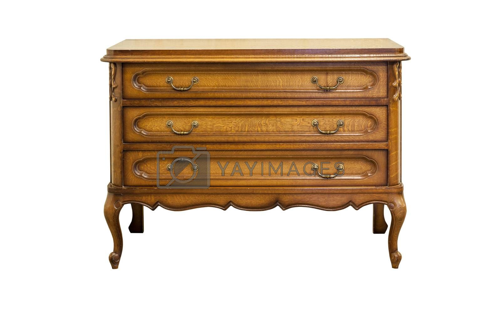 Antique dresser by Nikonas