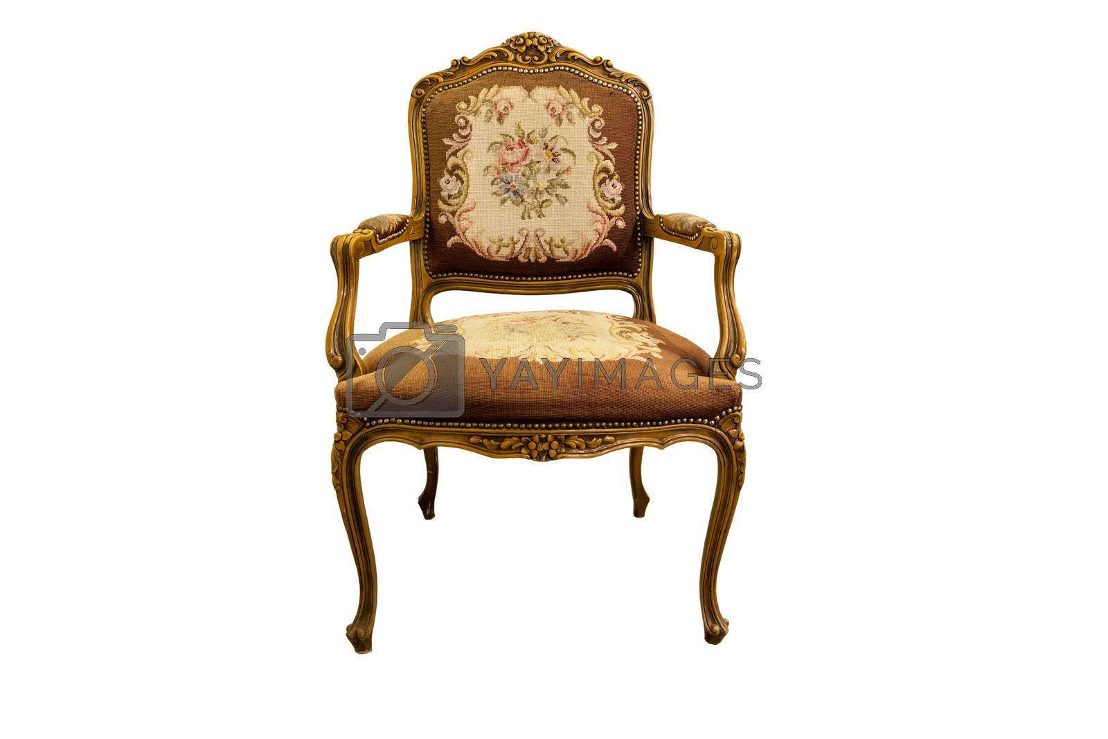 Antique chair by Nikonas