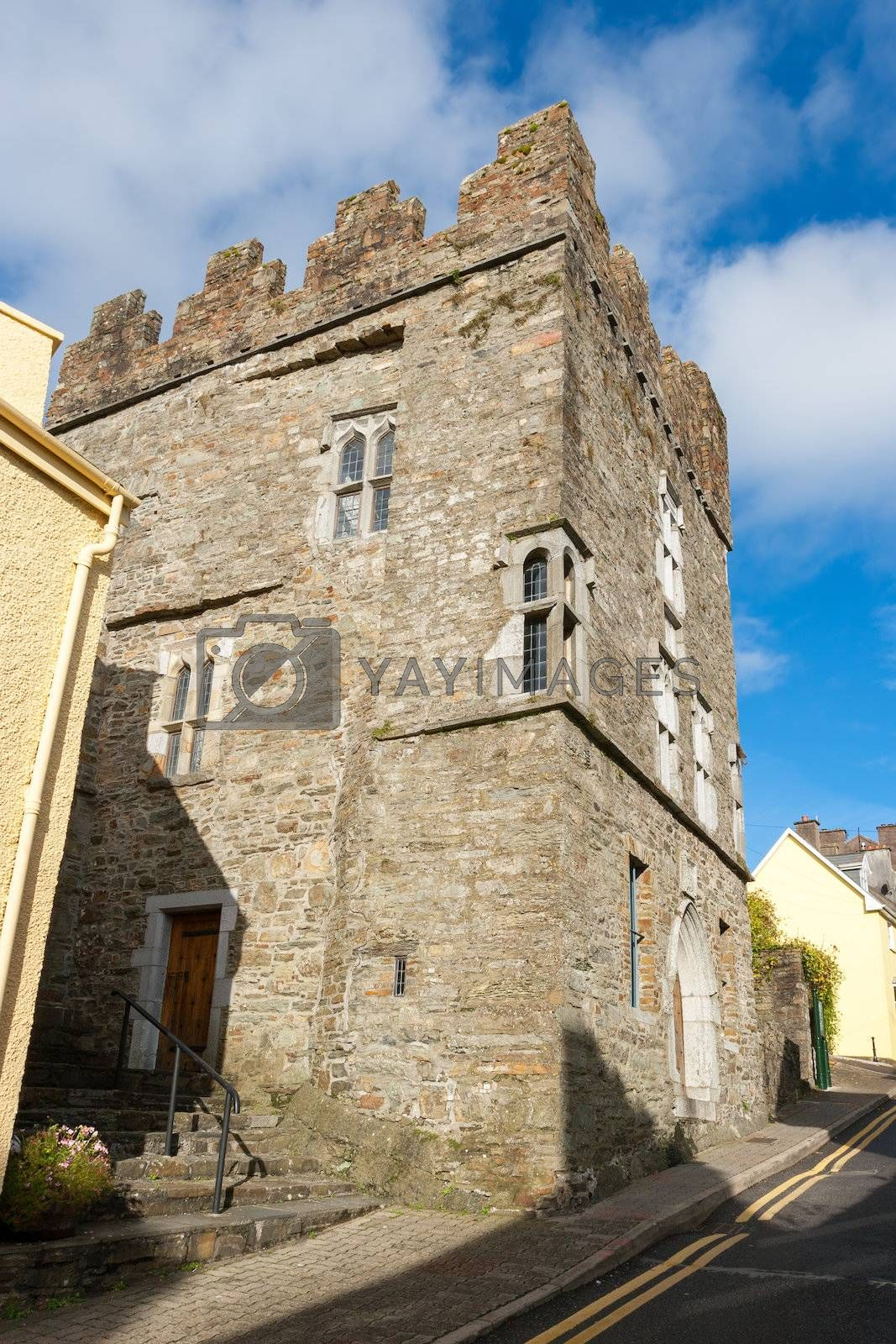 Exterior of Desmond Castle in the middle of Kinsale. County Cork, Ireland