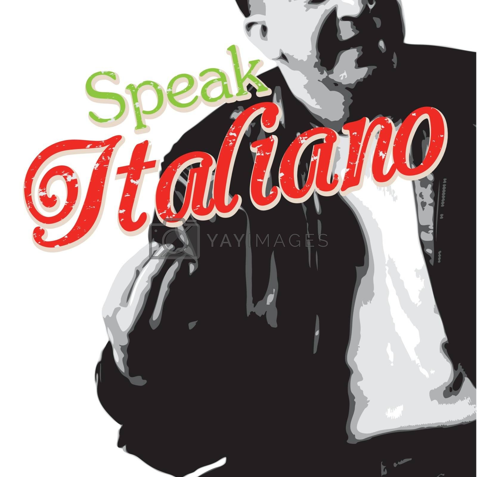 Speaking Italian with Your Hands by graficallyminded