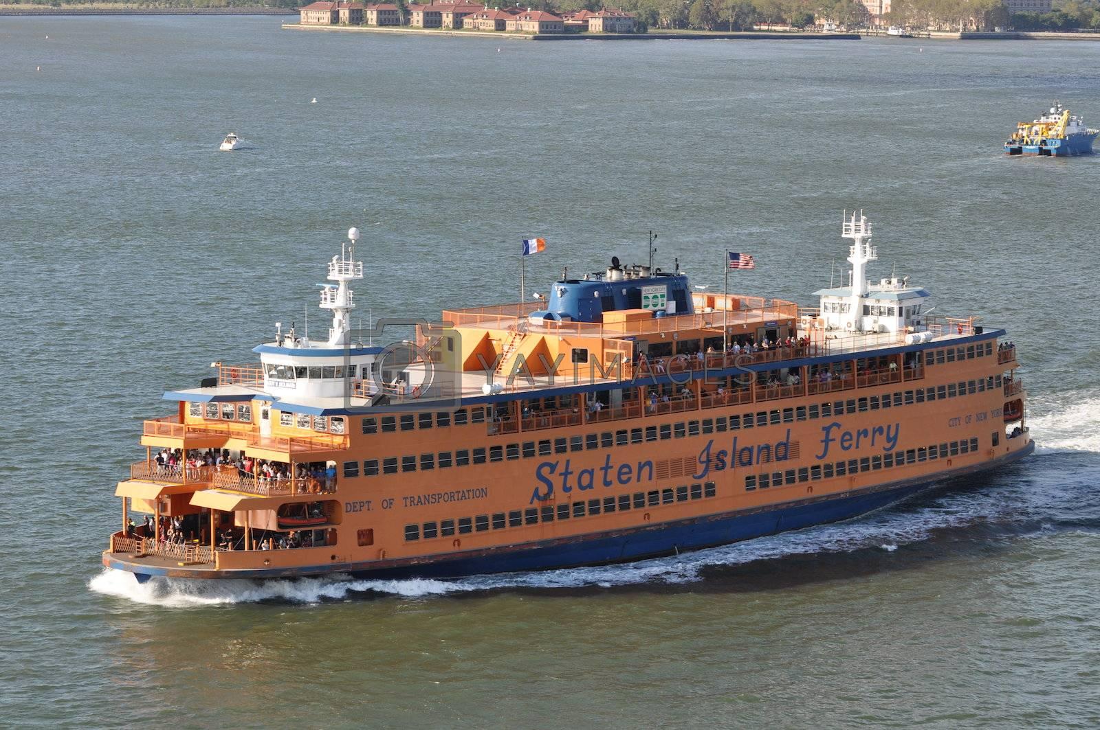 Staten Island Ferry in New York