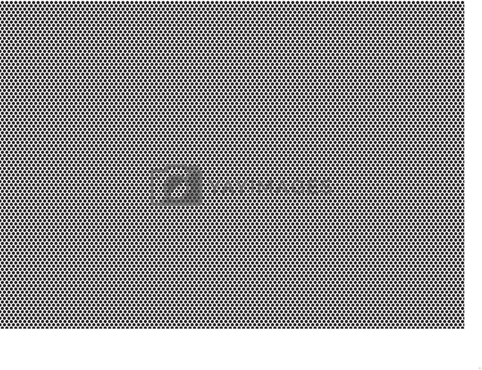 Dotted Texture - Abstract Background Illustration, Vector
