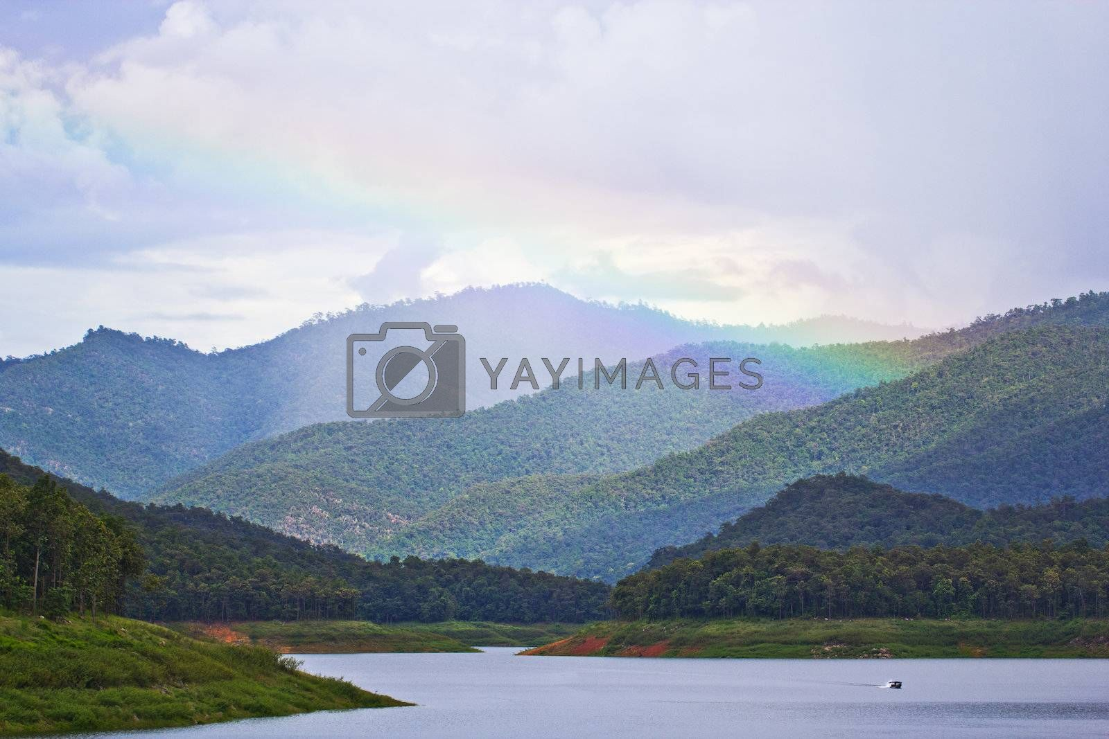 National park on the north of Thailand
