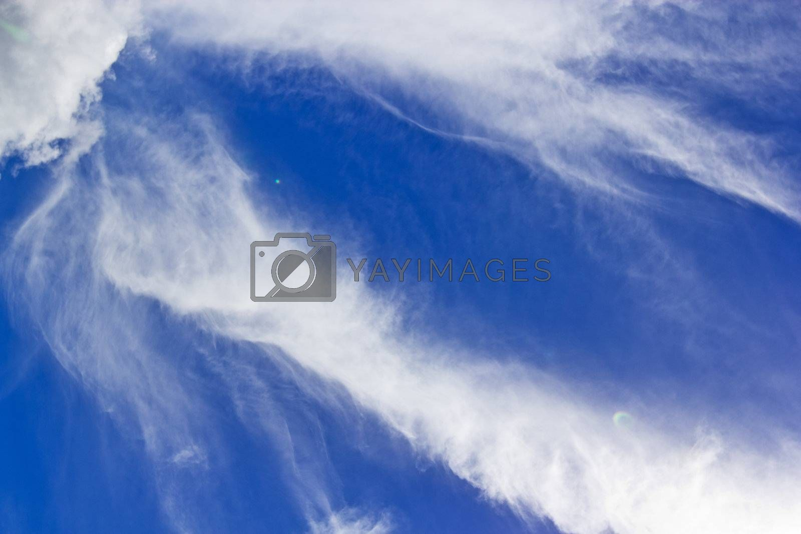 On the day when the sun is scorching hot and turbulence cloud