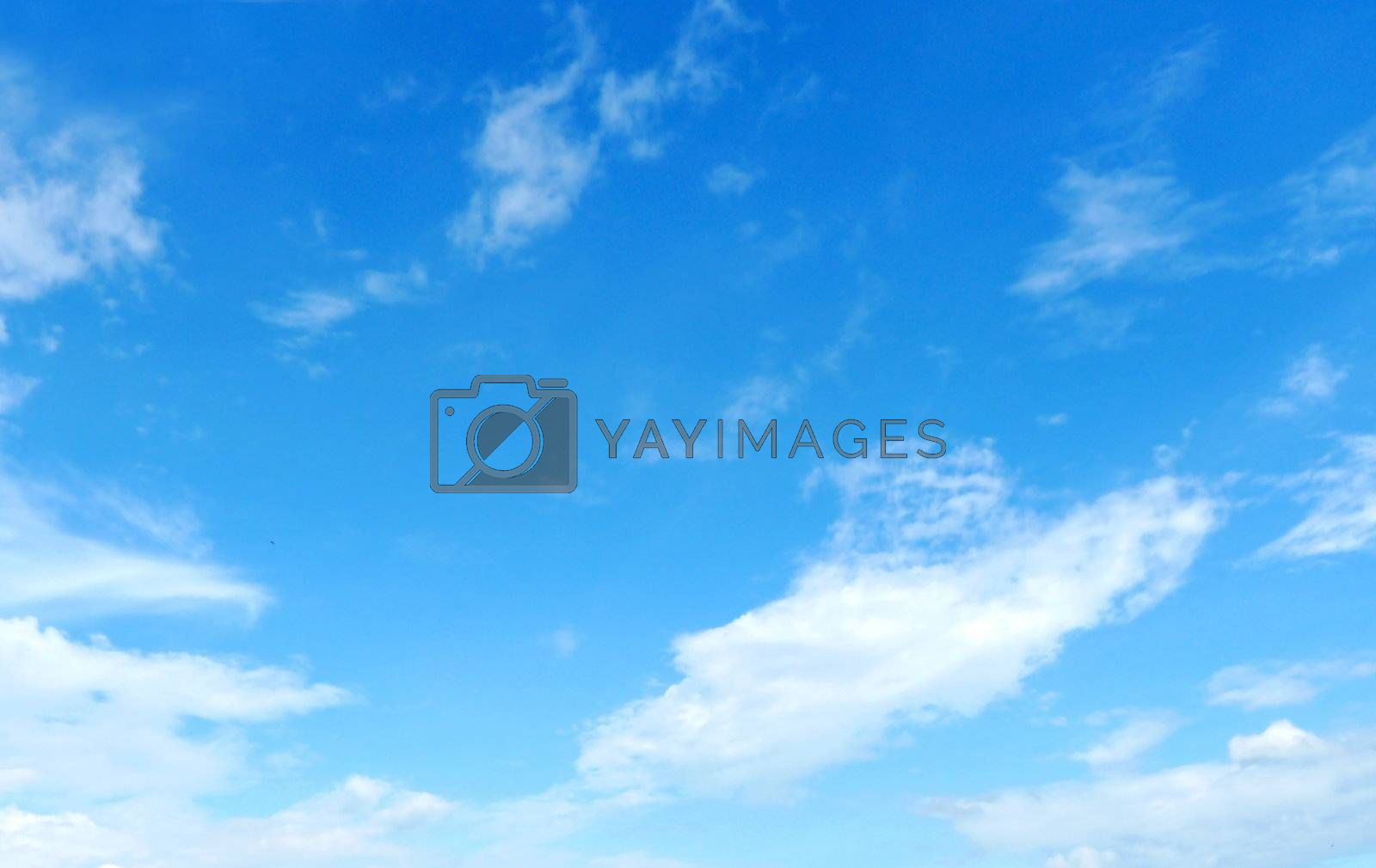 Nice sky and cloud background