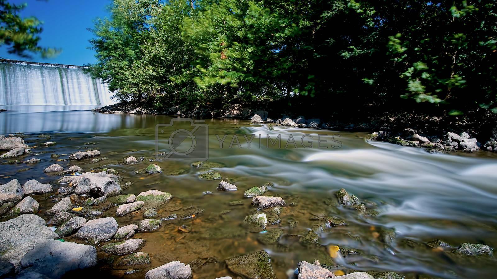 Royalty free image of Down river by berkehaus