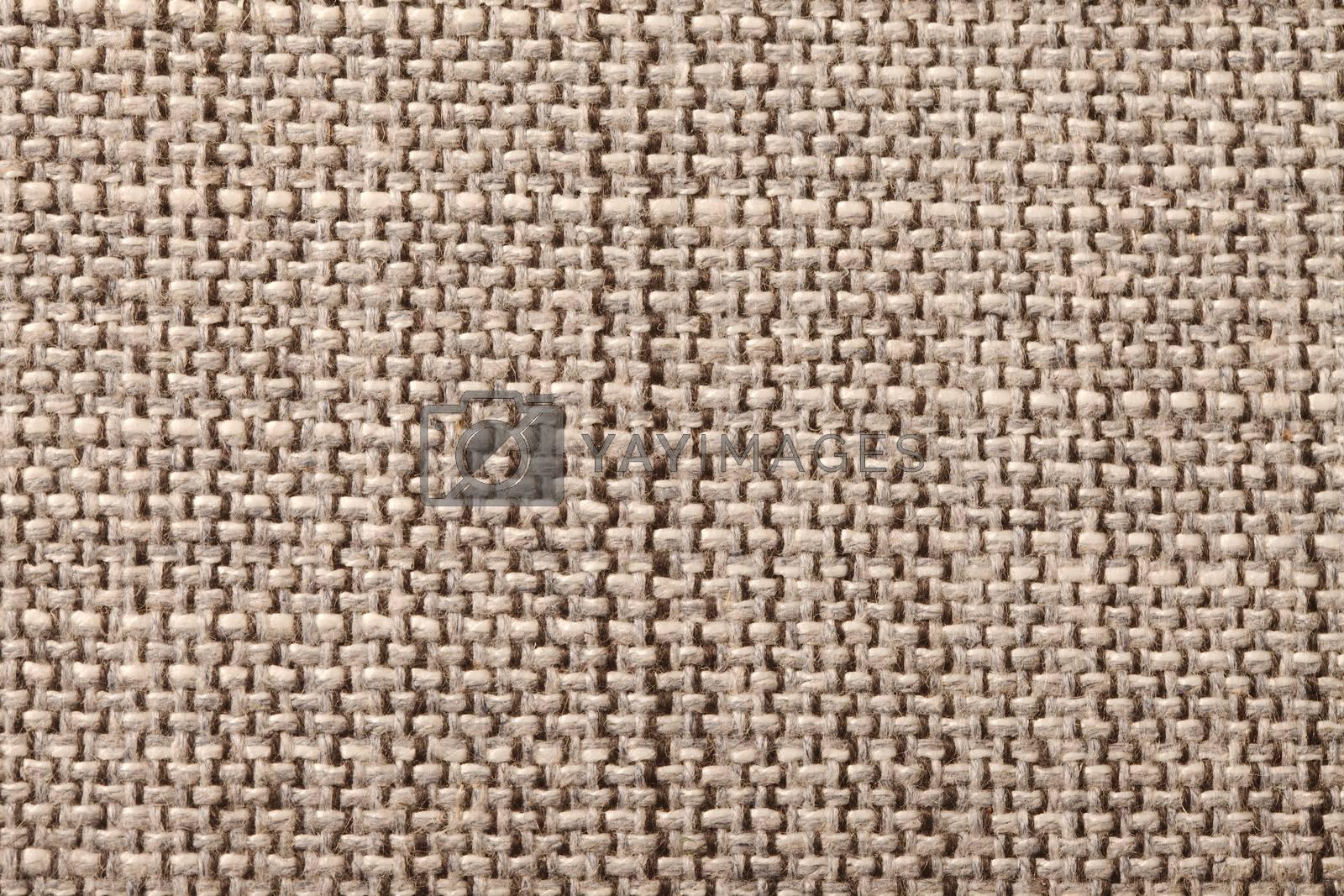 Rough textile texture close up