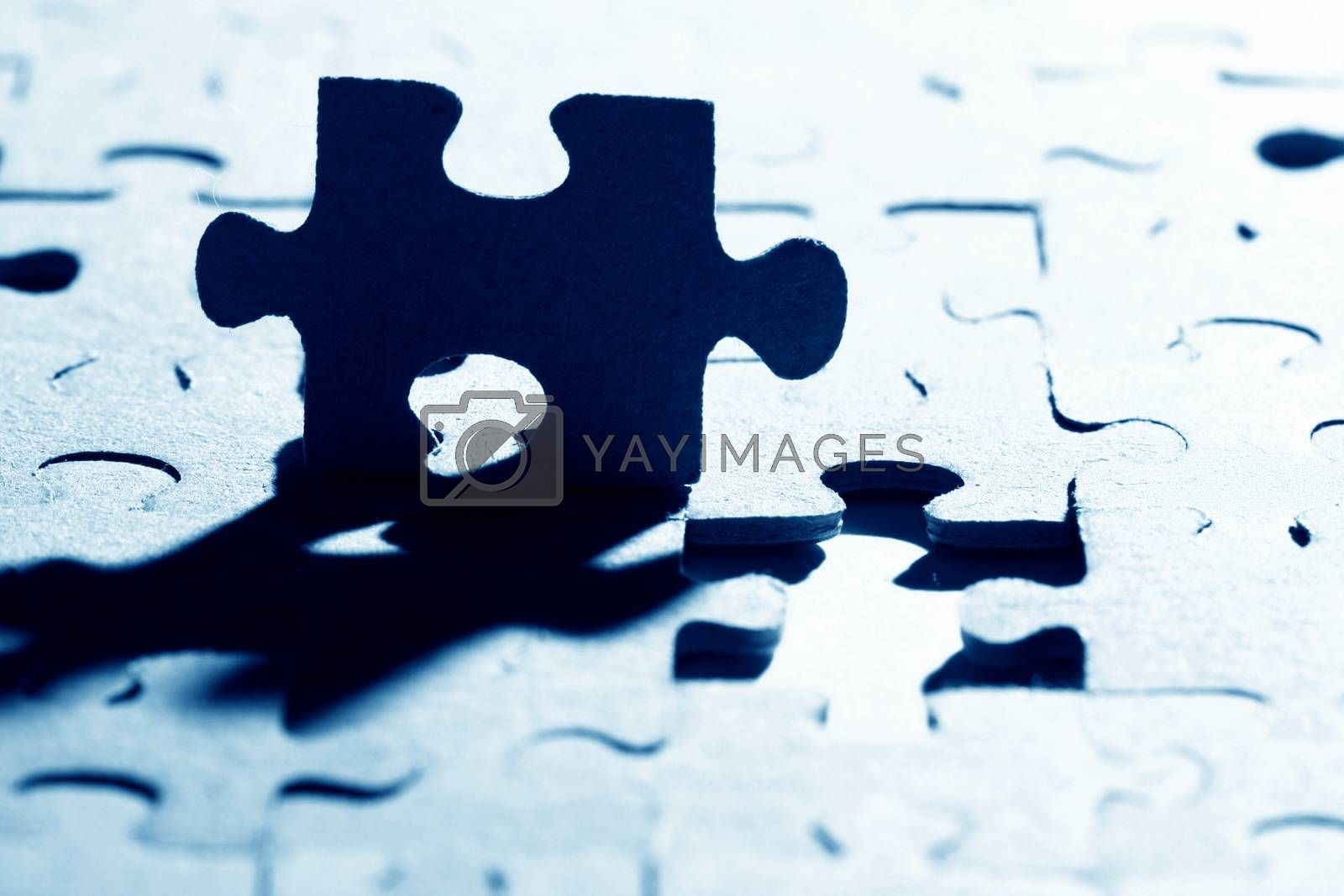 Royalty free image of puzzle by Yellowj