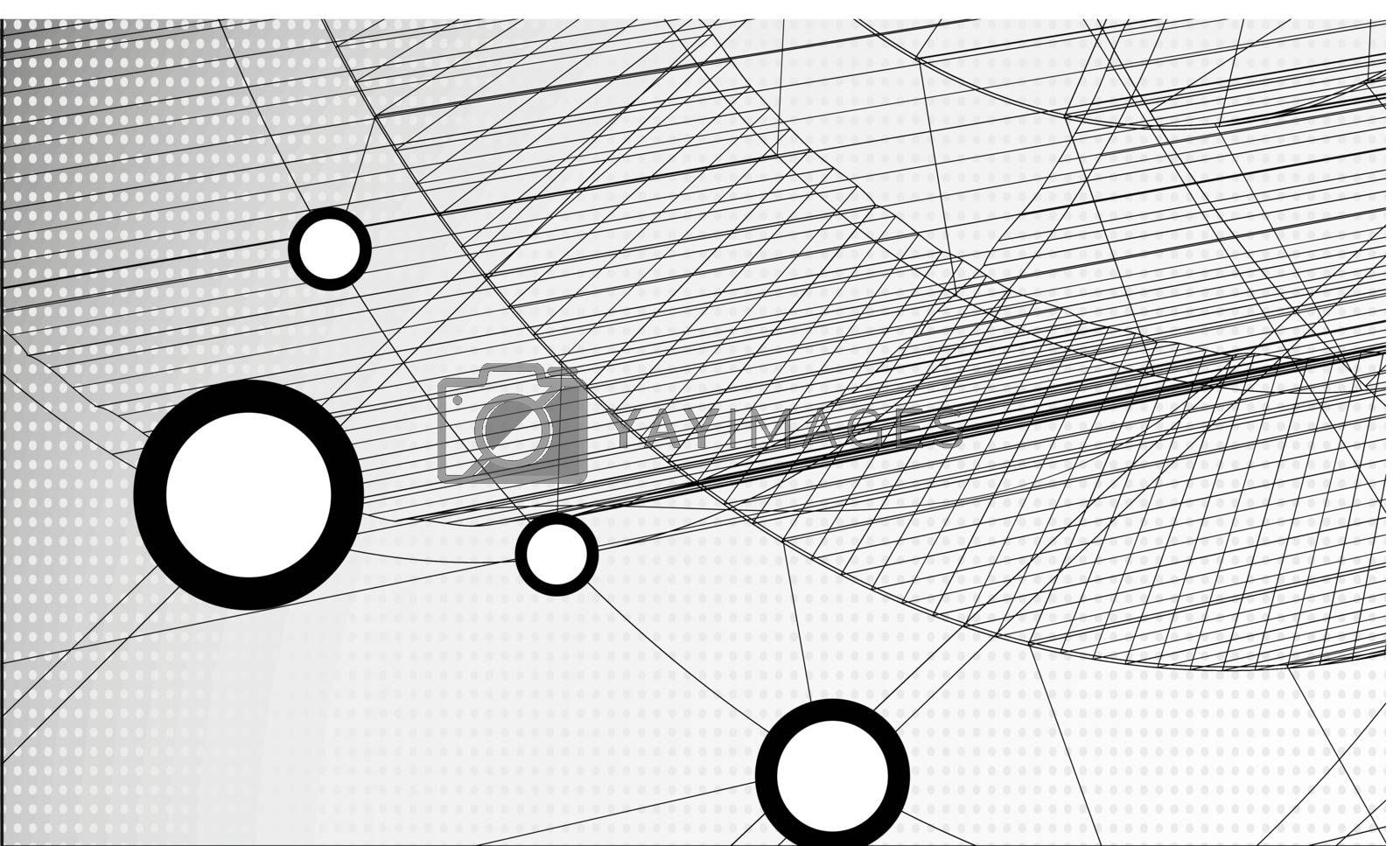 Technology Abstract Background. Vector Illustration. Eps 10.