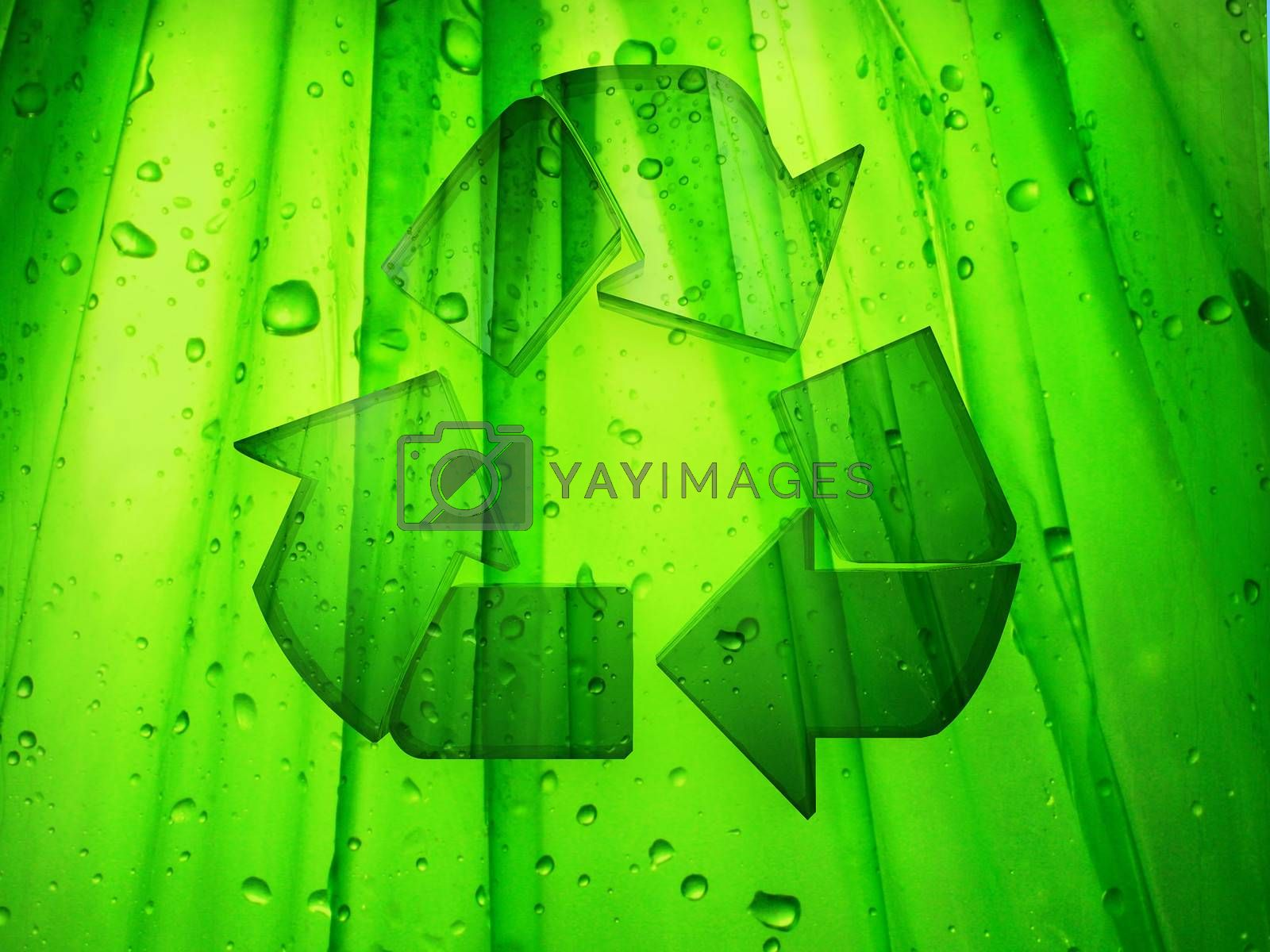 illustration of recycling