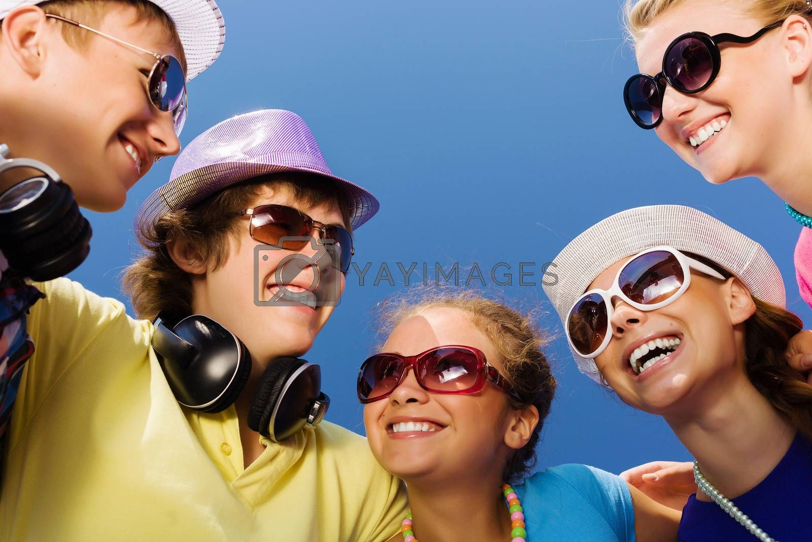 Royalty free image of Young and happy by sergey_nivens