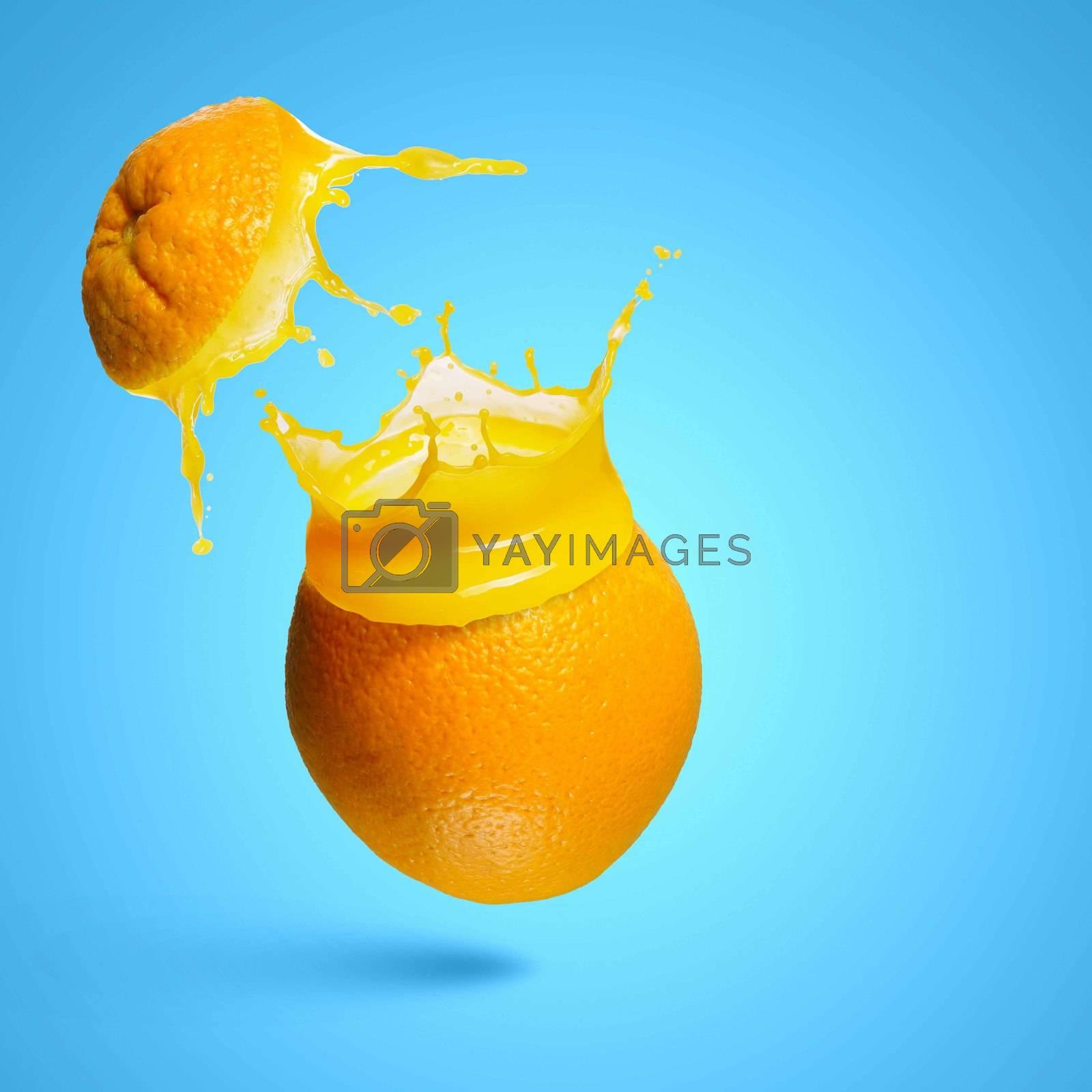 Royalty free image of Orange juice by sergey_nivens