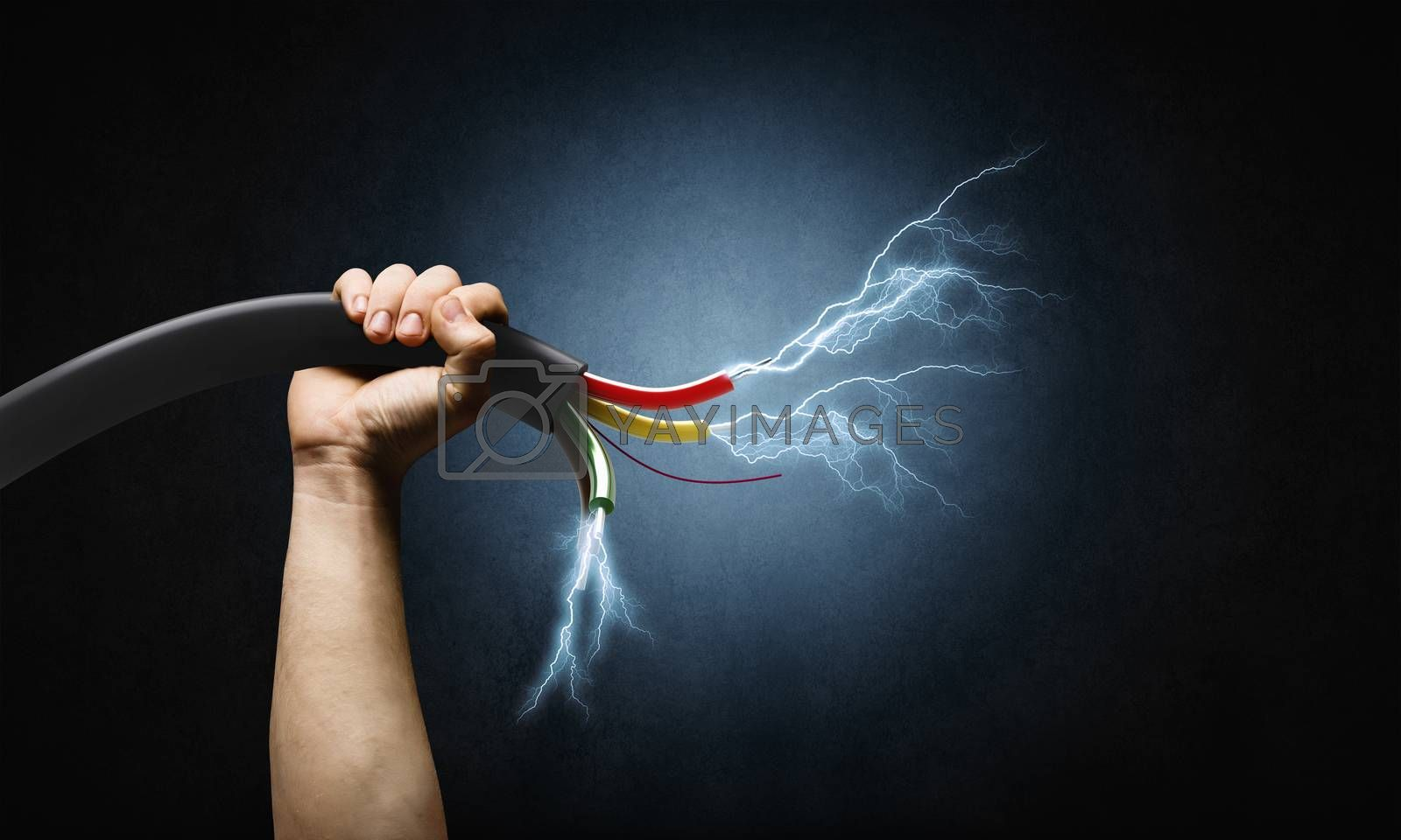 Royalty free image of Power and energy by sergey_nivens