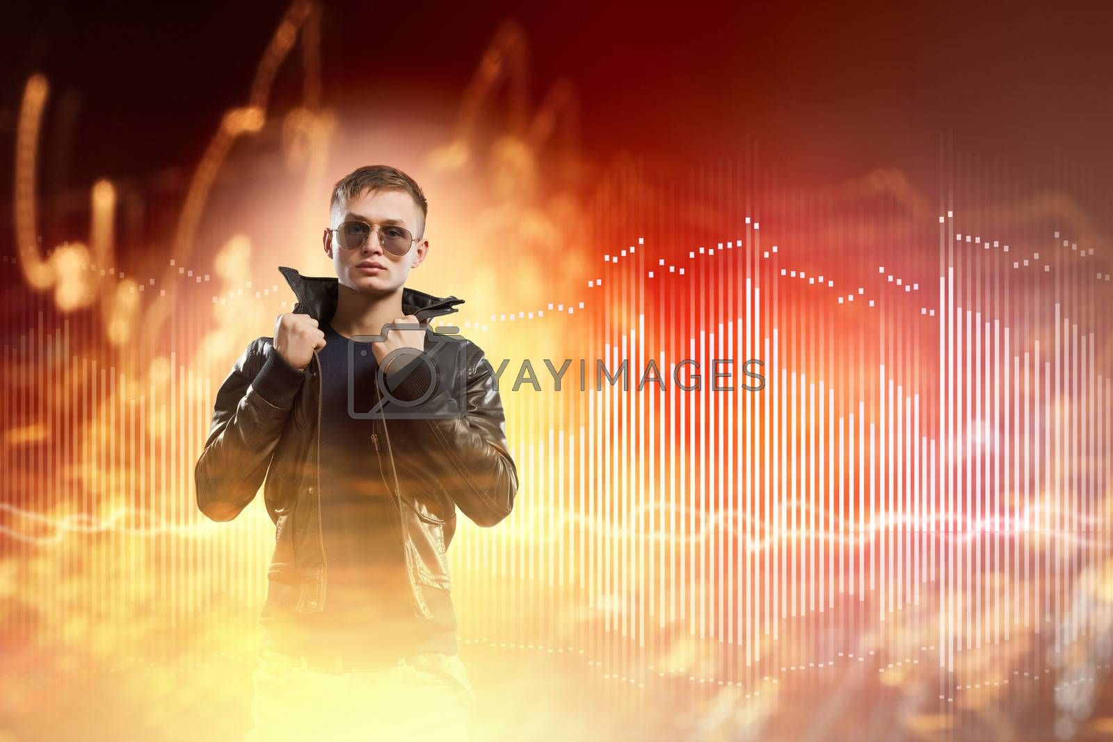 Royalty free image of Rock star by sergey_nivens