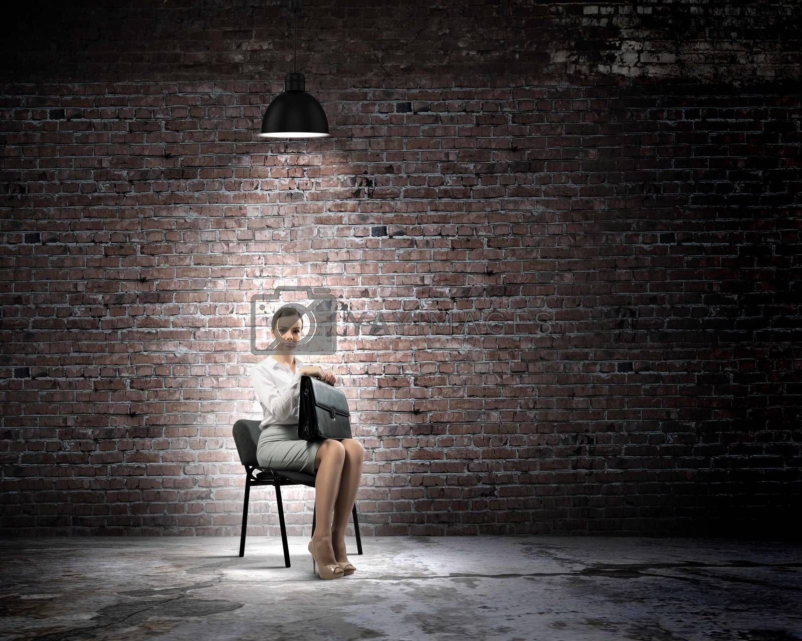 Royalty free image of Job interview by sergey_nivens