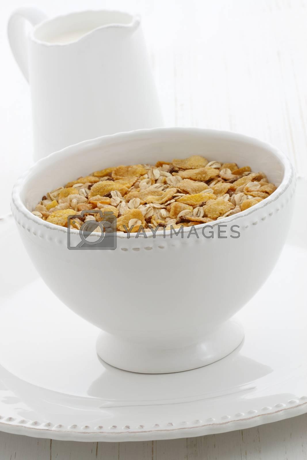 Delicious and healthy granola cereal  by tacar
