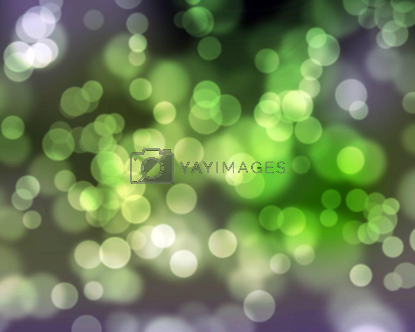 colorful dots background illustration