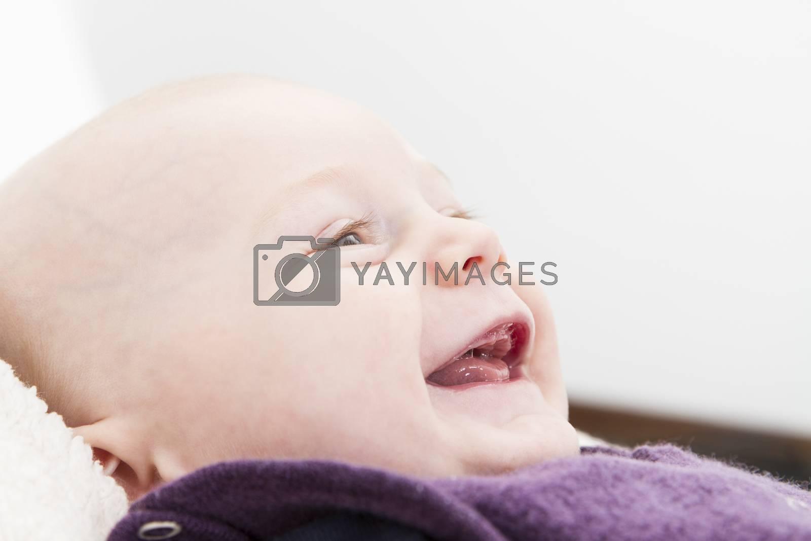 Royalty free image of smiling toddler by gewoldi
