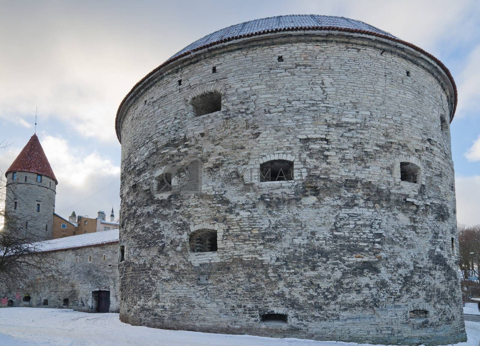 Medieval tower Thick Margarita in Tallinn