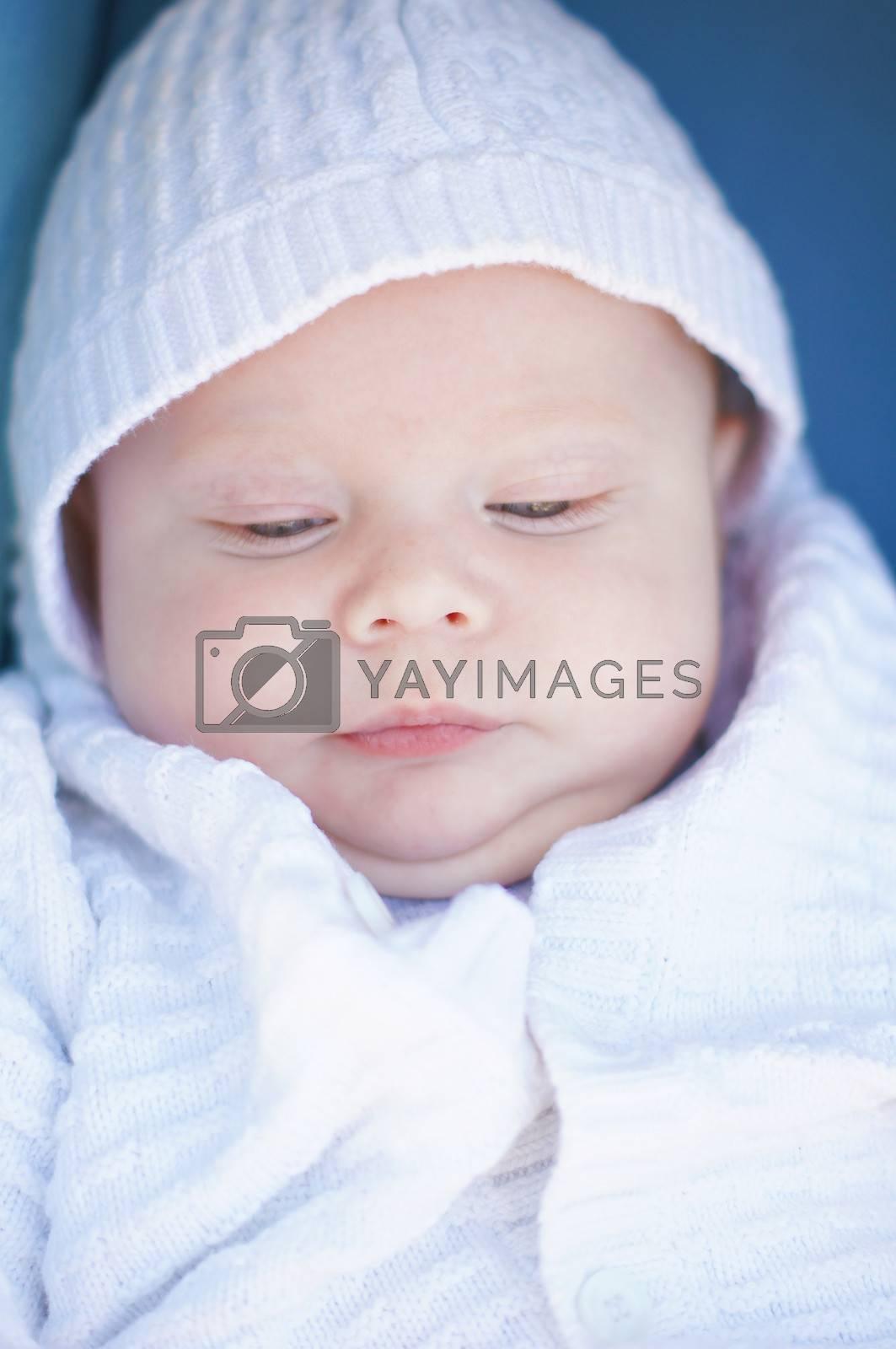 Little boy portrait by Elet