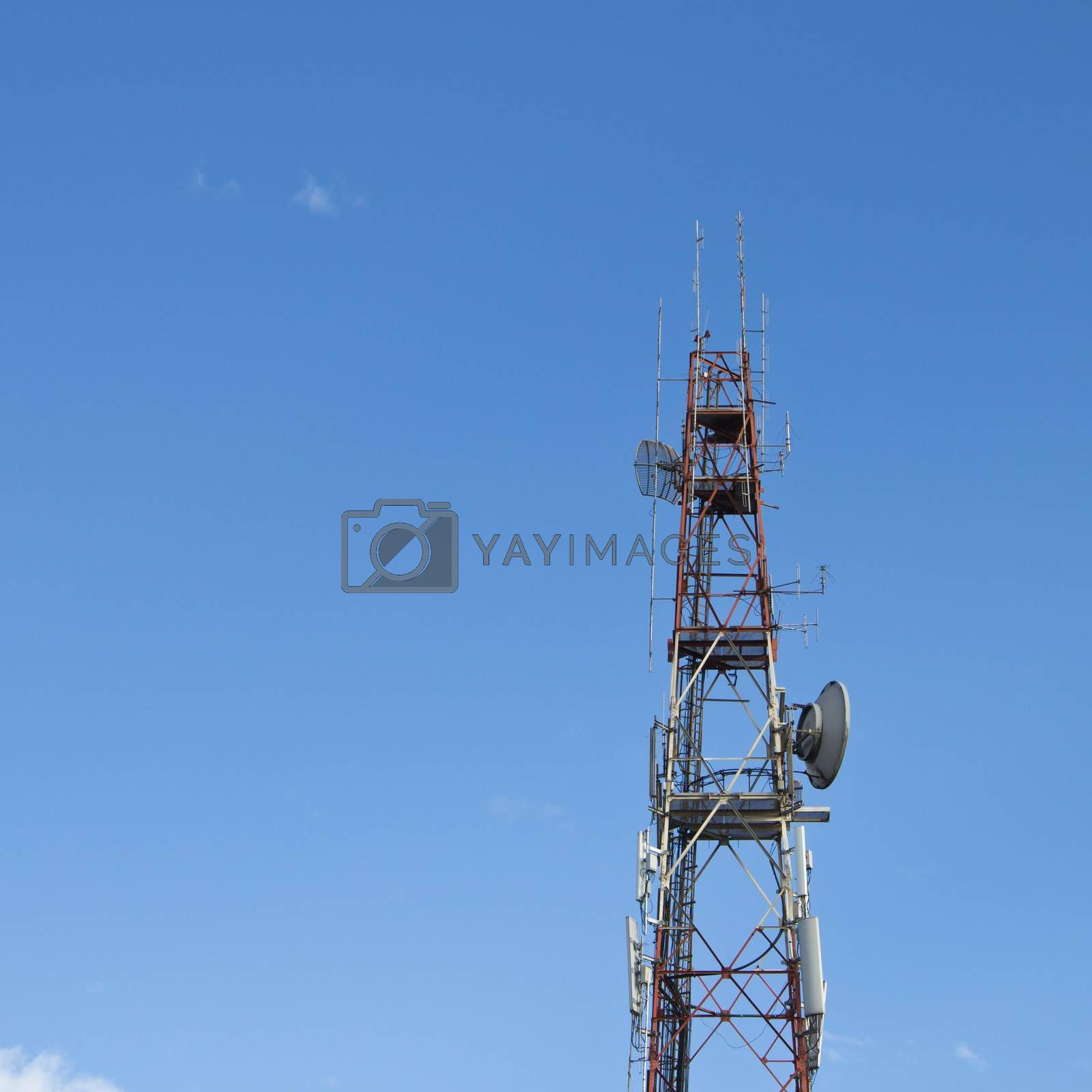 Communication tower by tiverylucky