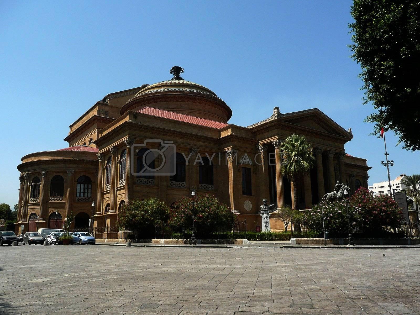 Teatro Massimo Opera House, Palermo, Italy by Marco Rubino