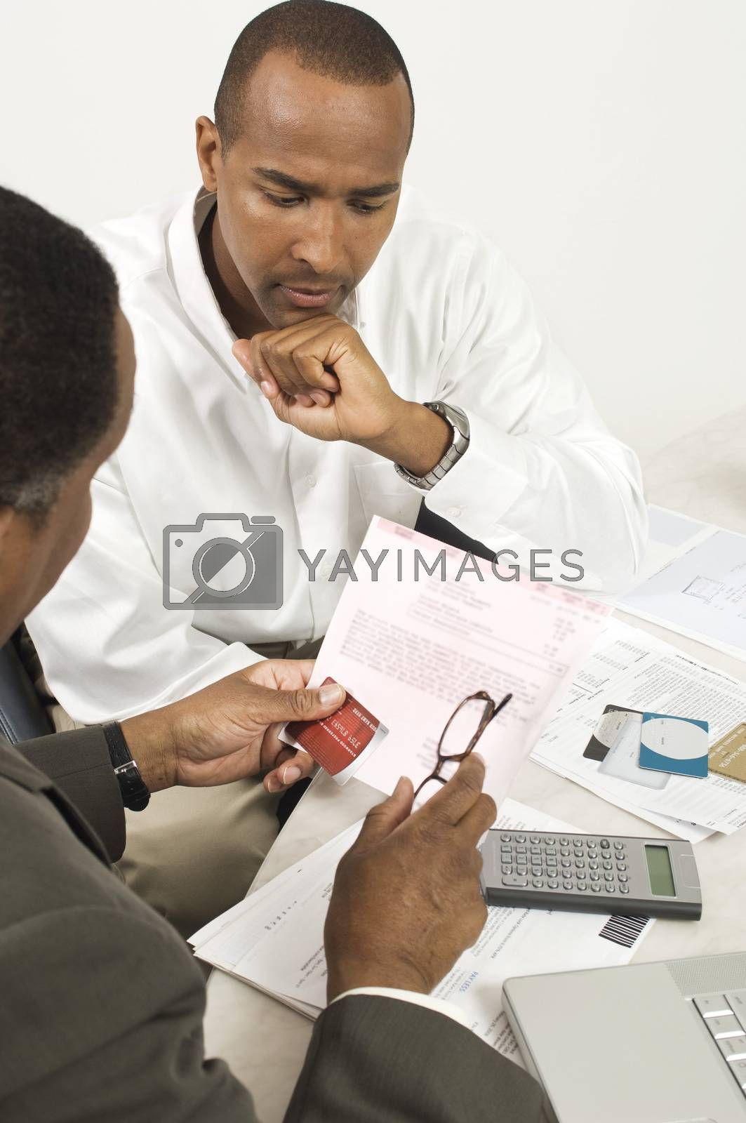 Financial Advisor In Discussion With Businessman